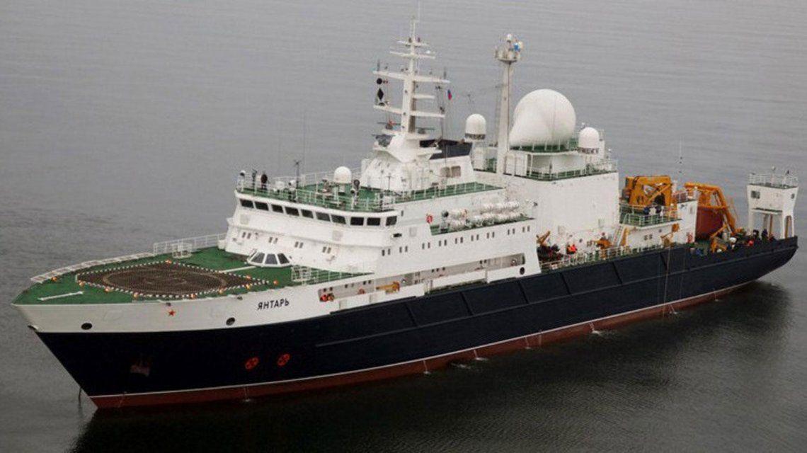 El barco ruso Yantar era el último extranjero que participaba de la búsqueda del ARA San Juan