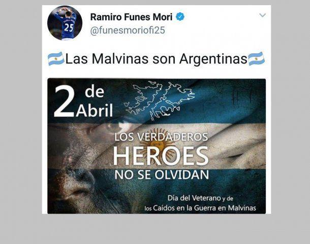 Tuit de Ramiro Funes Mori