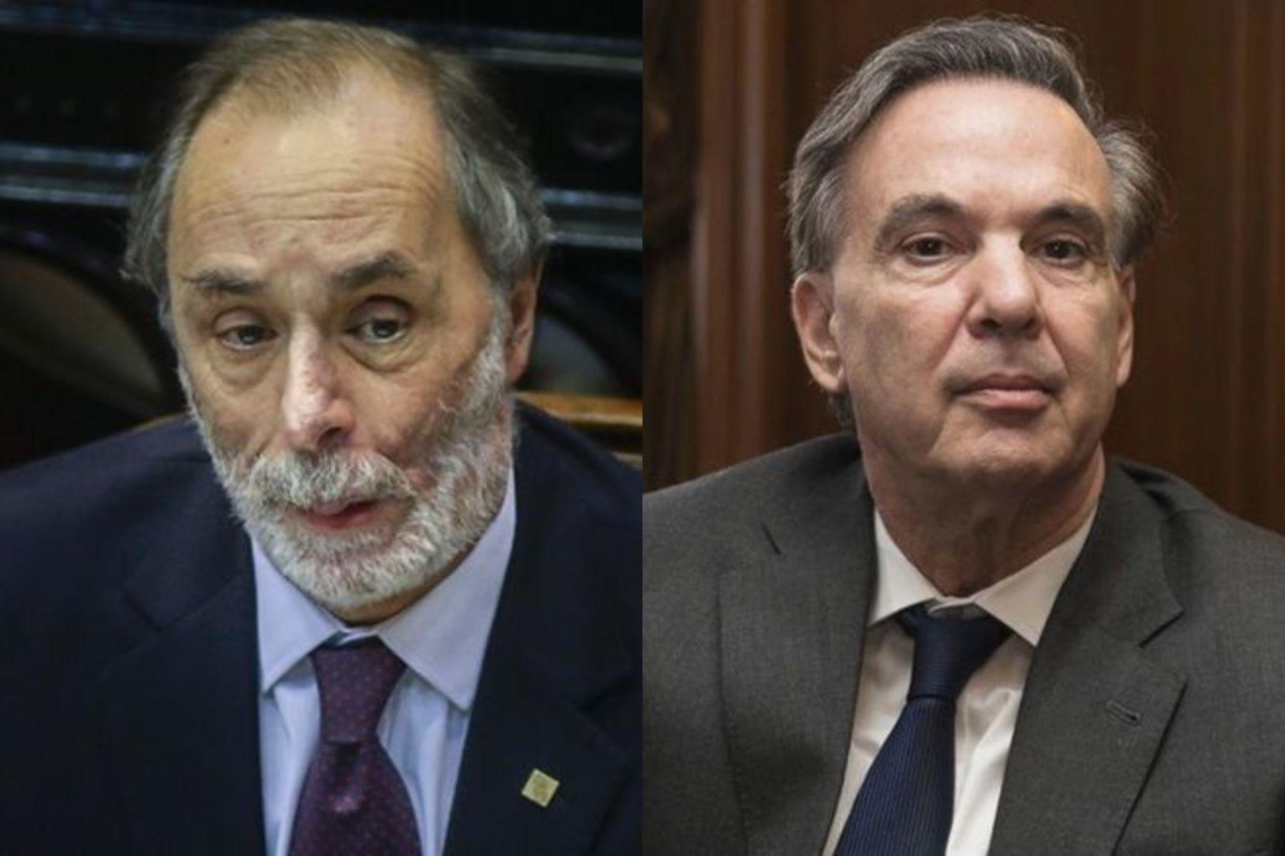 Pablo Tonelli yMiguel Ángel Pichetto