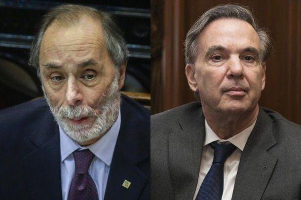 Pablo Tonelli y Miguel Ángel Pichetto