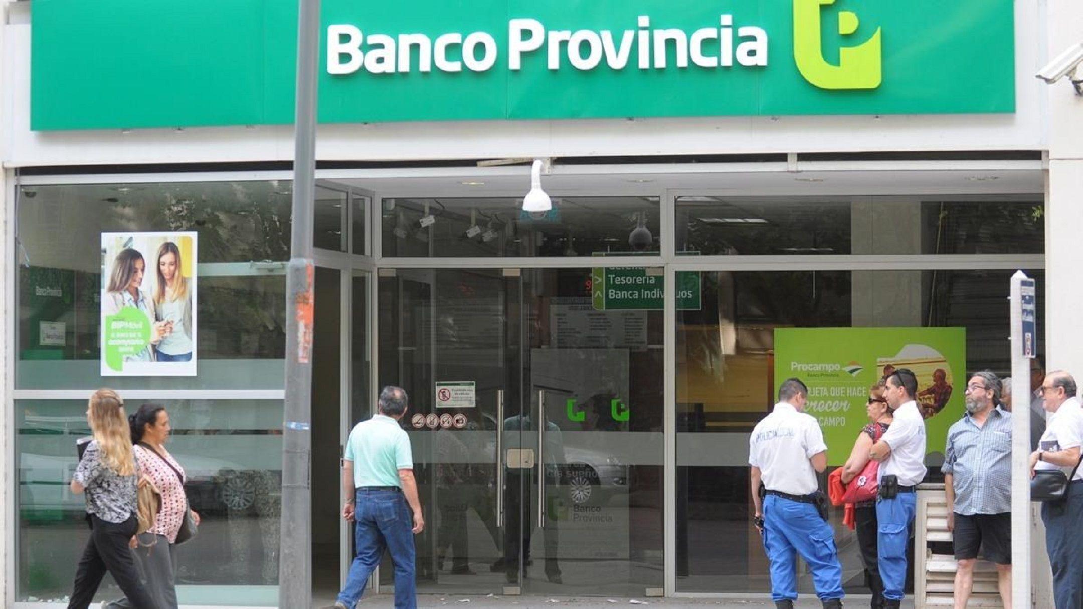 Banco Provincia: los empleados cumplen con el segundo día de paro