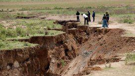 Kenia: una grieta partirá en dos a África