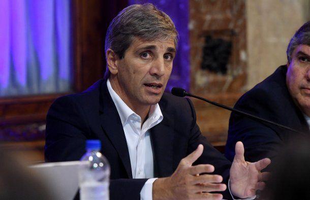 <p>Flamante presidente del Banco Central, Luis Caputo</p>