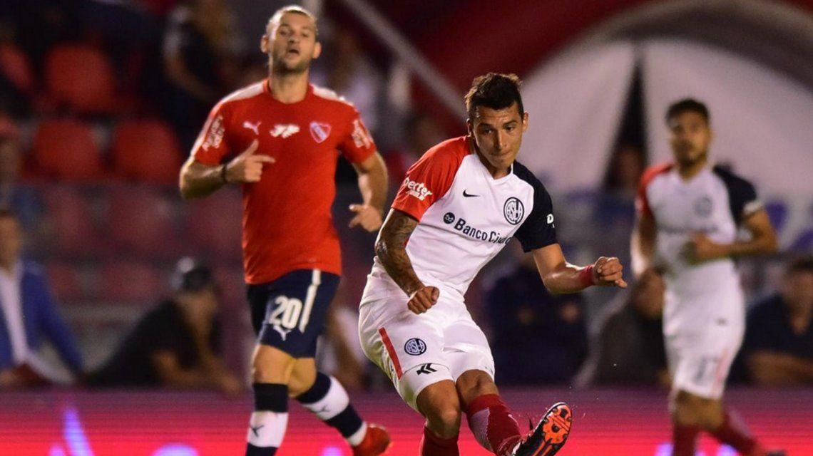Independiente y San Lorenzo en el Libertadores de América (@SanLorenzo)