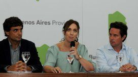 Hernán Lacunza, María Eugenia Vidal y Gabriel Sánchez Zinny