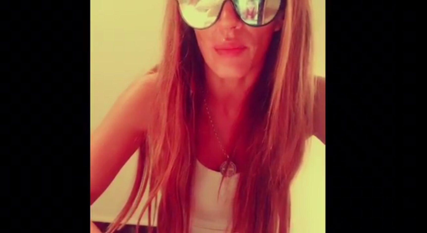 Natacha Jaitt grabló un video contando su versión del día de furia en Comodoro Py