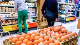 Los huevos aumentaron un 60% y denuncian escasez