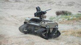 Prototipo de robot militar del ejército de los Estados Unidos