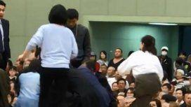 Las médicas intentaron ayudar al alcalde de Maizuru pero las echaron
