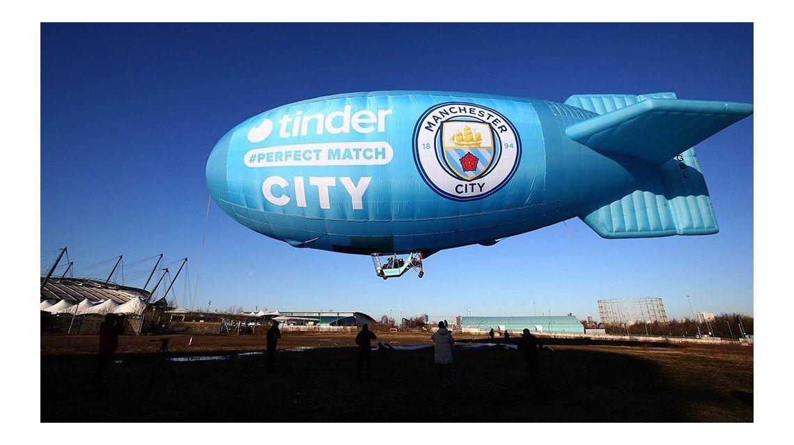 Tinder auspiciará al Manchester City, uno de los equipos más grandes del mundo