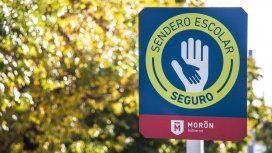 Sendero Escolar Seguro, un programa para cuidar a los chicos en Morón