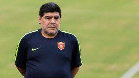 Maradona en el Fujairah