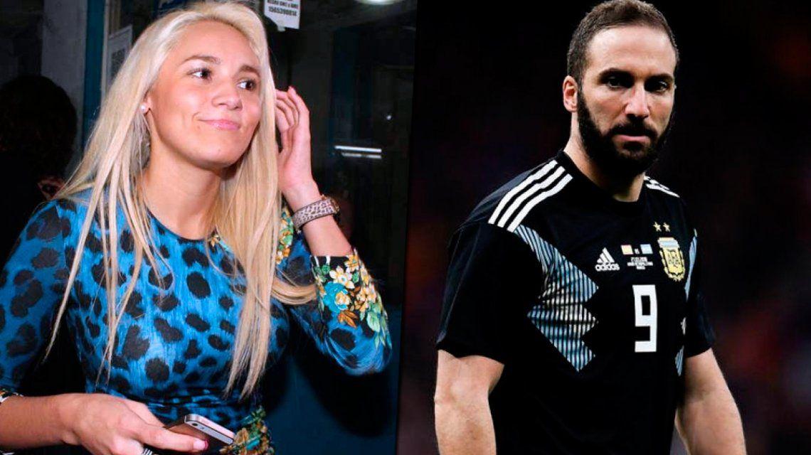 Sin filtro: Rocío Oliva explotó contra un jugador del equipo de Maradona y lo comparó con Higuaín