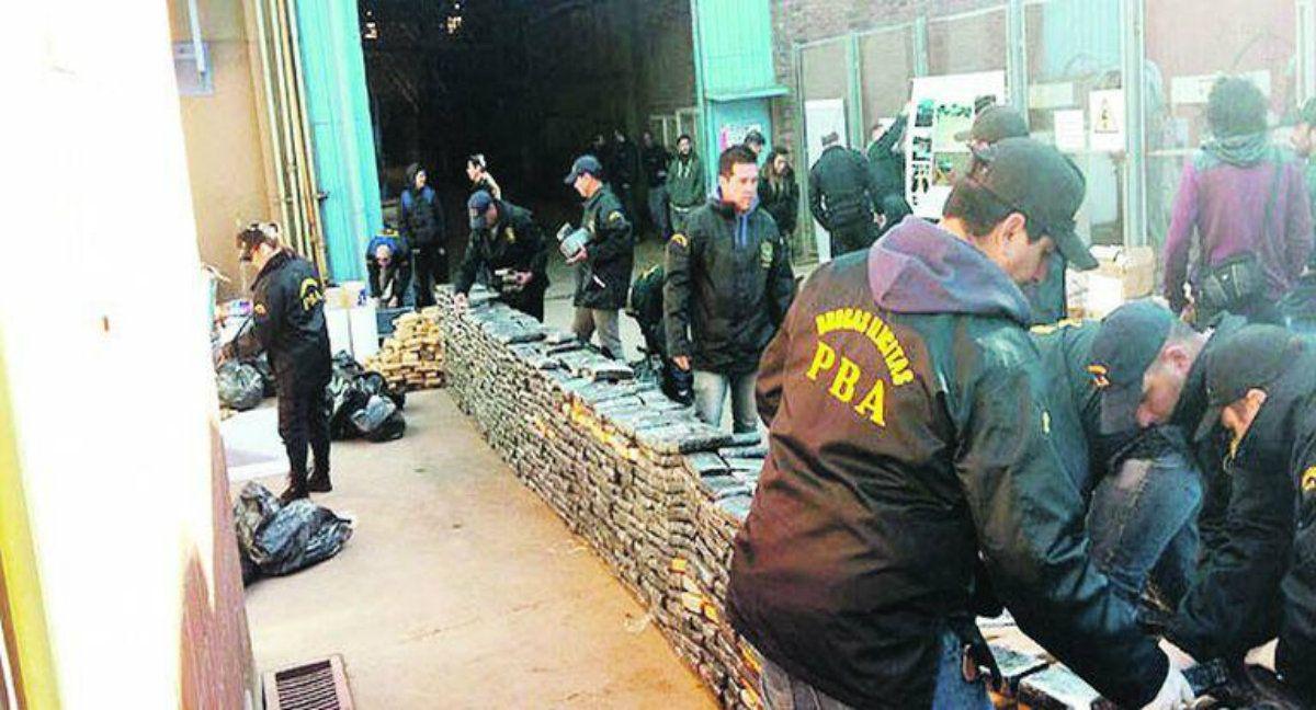 Desaparecieron 540 kilos de marihuana y culparon a las ratas.