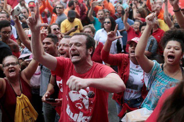 Fuerte respaldo a Lula en las calles<br>
