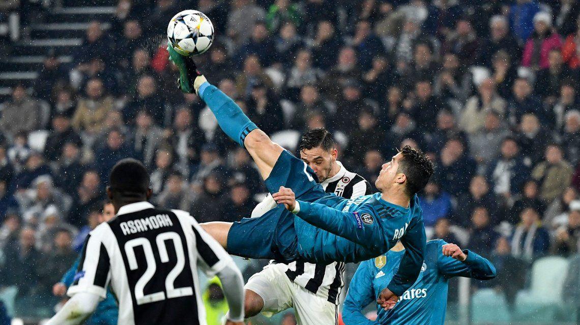 Cristiano Ronaldo imitó su chilena
