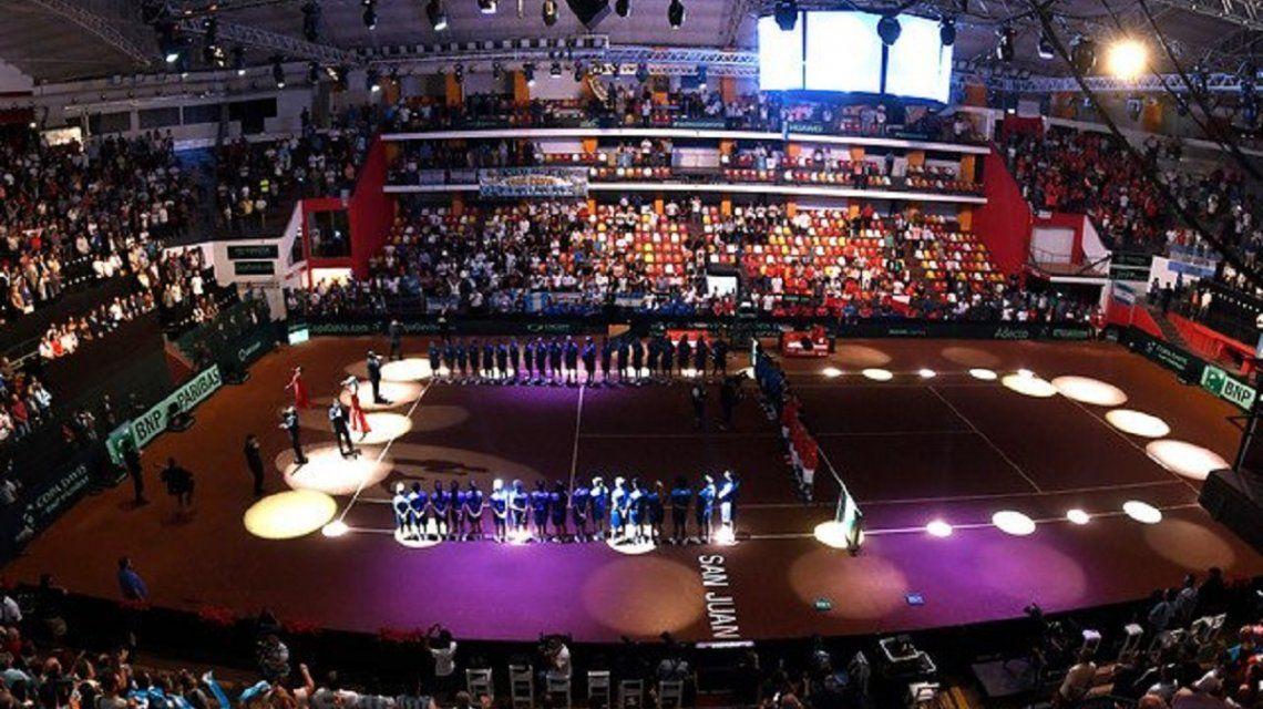 Copa Davis: Argentina se durmió en el dobles y Chile está arriba 2-1