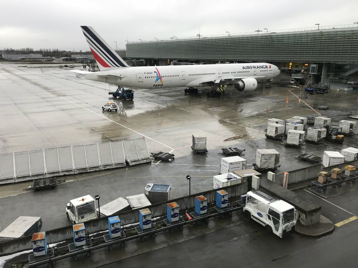 Air France canceló el 30 por ciento de sus vuelos desde el aeropuerto Charles de Gaulle de París
