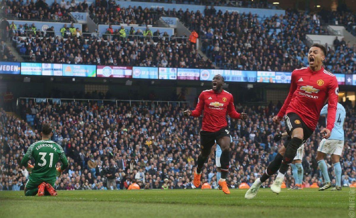 Manchester United derrotó al City -. Crédito:@ManUtd