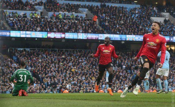 Manchester United derrotó al City -. Crédito: @ManUtd