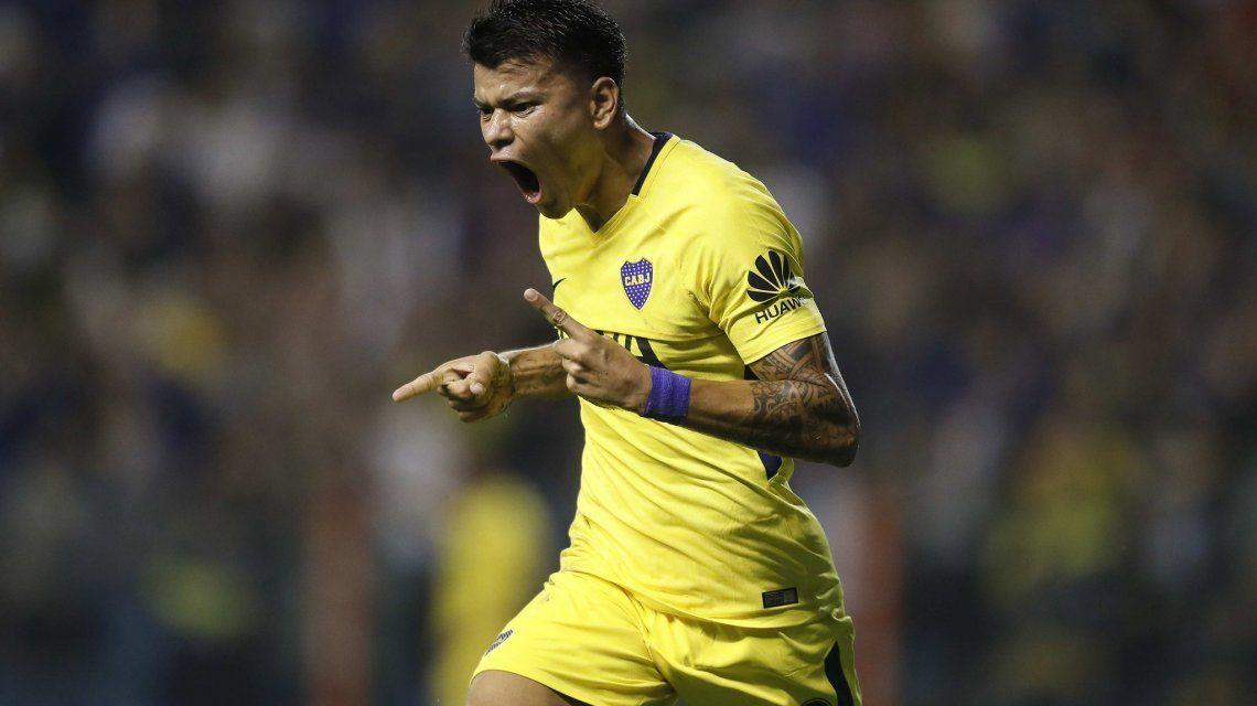 Gol de Walter Bou para Boca - Crédito:@BocaJrsOficial