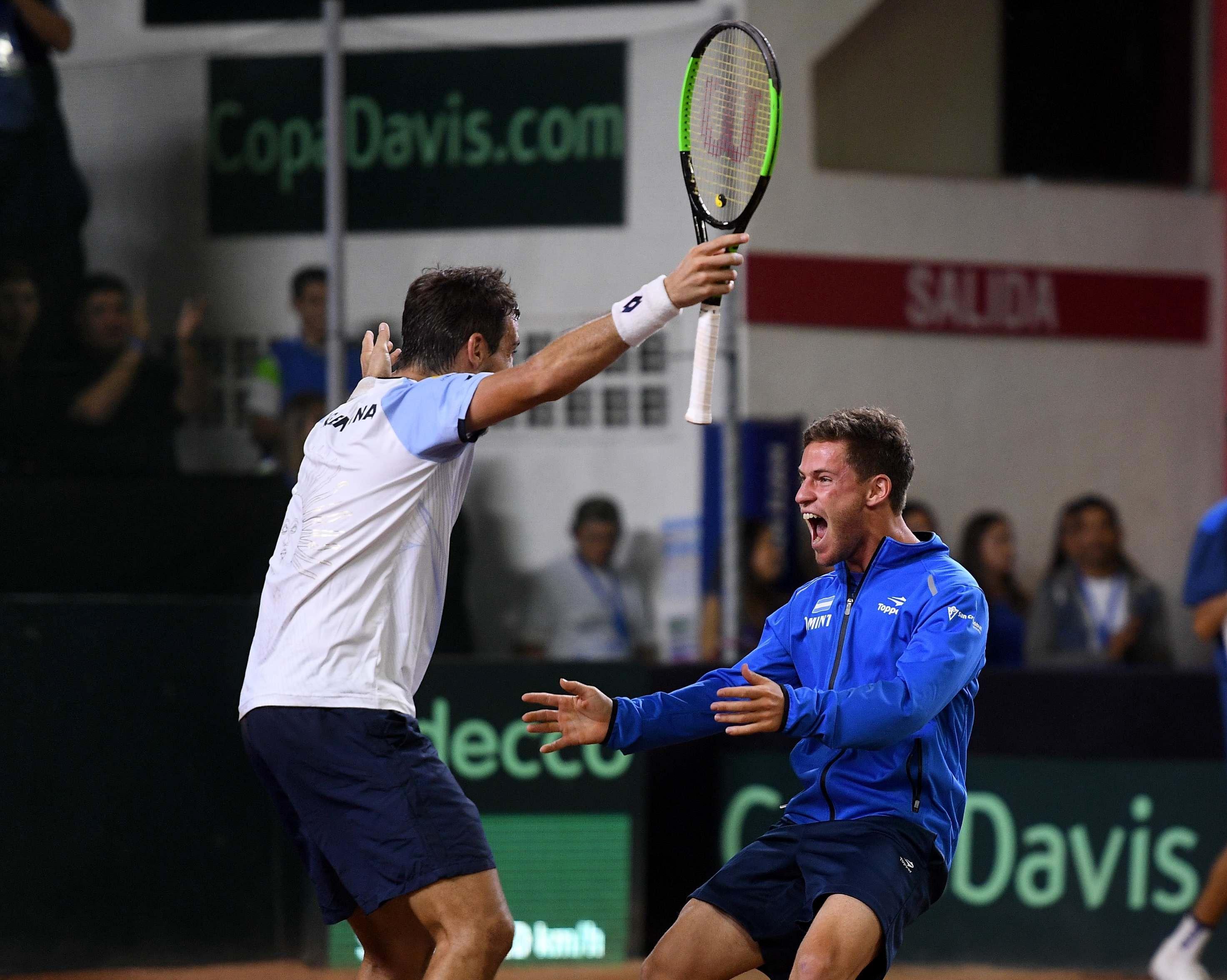 Argentina conocerá este martes su rival en el repechaje para regresar al Grupo Mundial de la Copa Davis