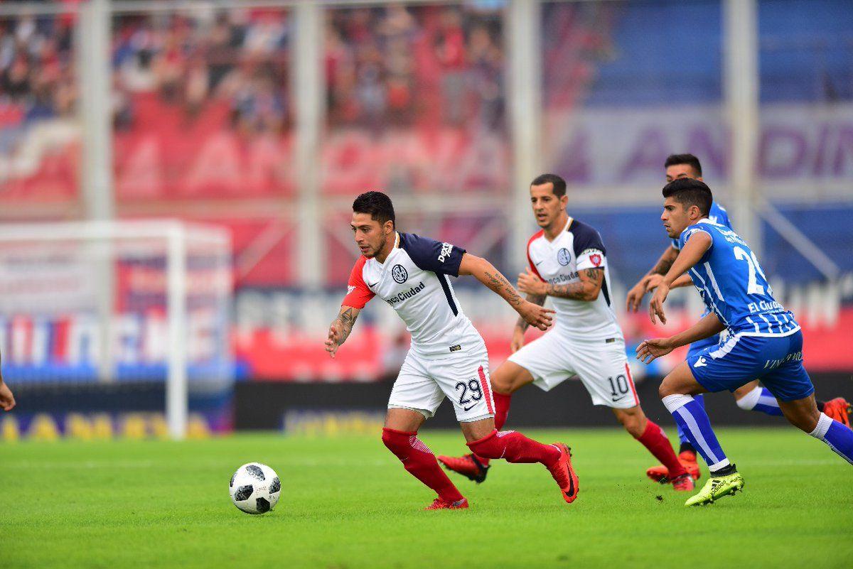 Papelón de San Lorenzo: Godoy Cruz lo bailó en el Gasómetro y le ganó 5 a 0