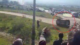 Terrible accidente de Nalbandián en el Rally Argentino