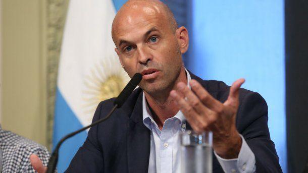 Guillermo Dietrich, ministro de Transporte<br>