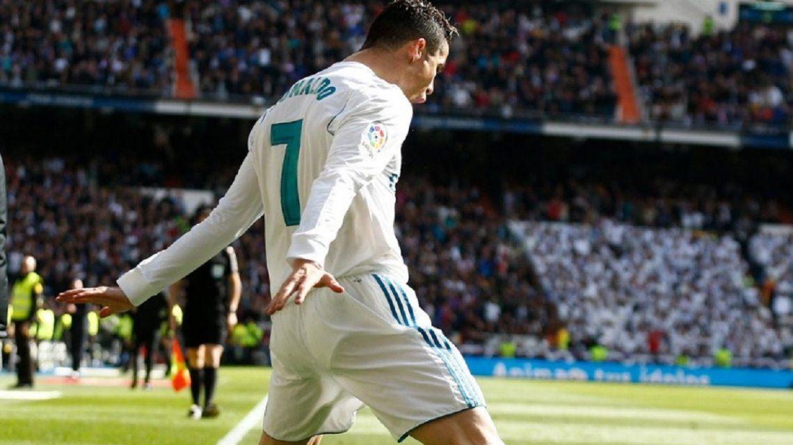 Cristiano Ronaldo en Real Madrid - Crédito:@realmadrid