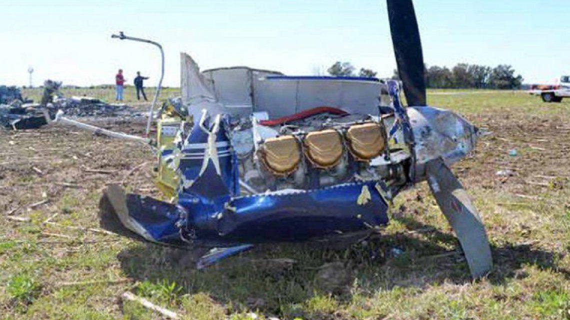 La Pampa: cayó una avioneta y murieron 5 personas