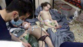 Siria: un supuesto ataque químico dejó al menos 80 muertos