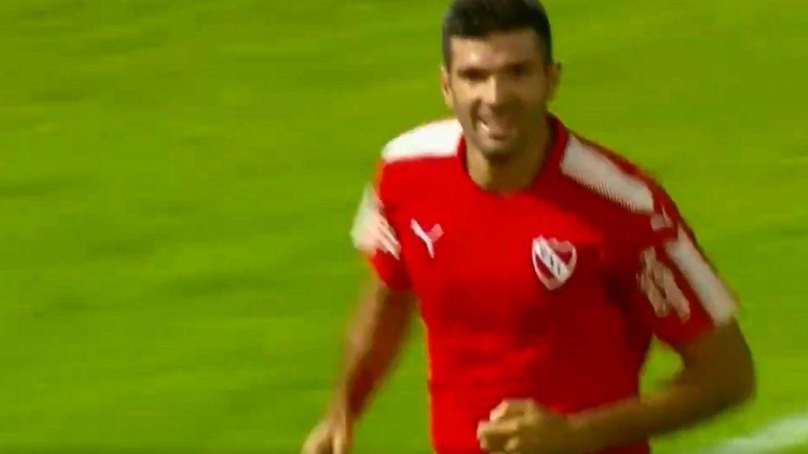 El golazo de Emmanuel Gigliotti  en la victoria de Independiente sobre Talleres