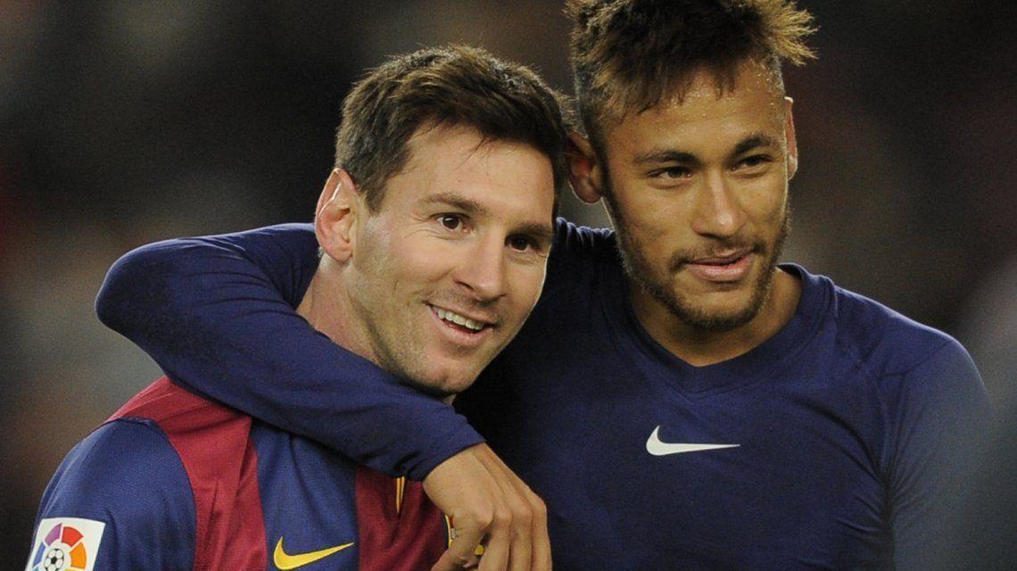Lionel Messi yNeymar da Silva Santos