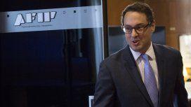 Leandro Cuccioli, titular de la AFIP