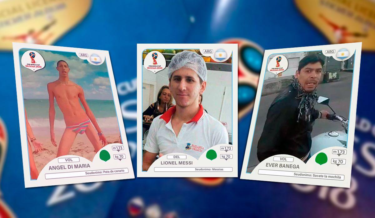 Las otras figuritas de la Selección: el viral que se burla de los jugadores de Argentina