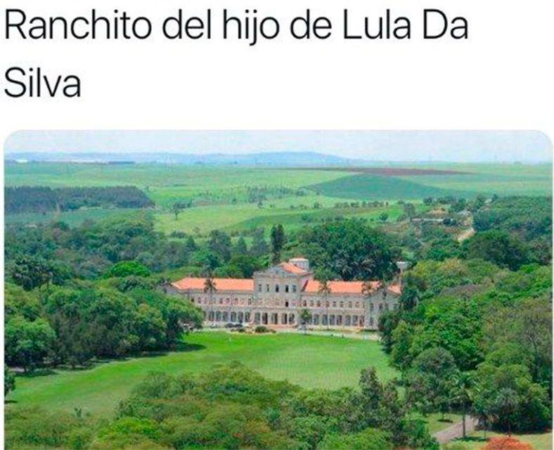 El ranchito del hijo de Lula era una universidad