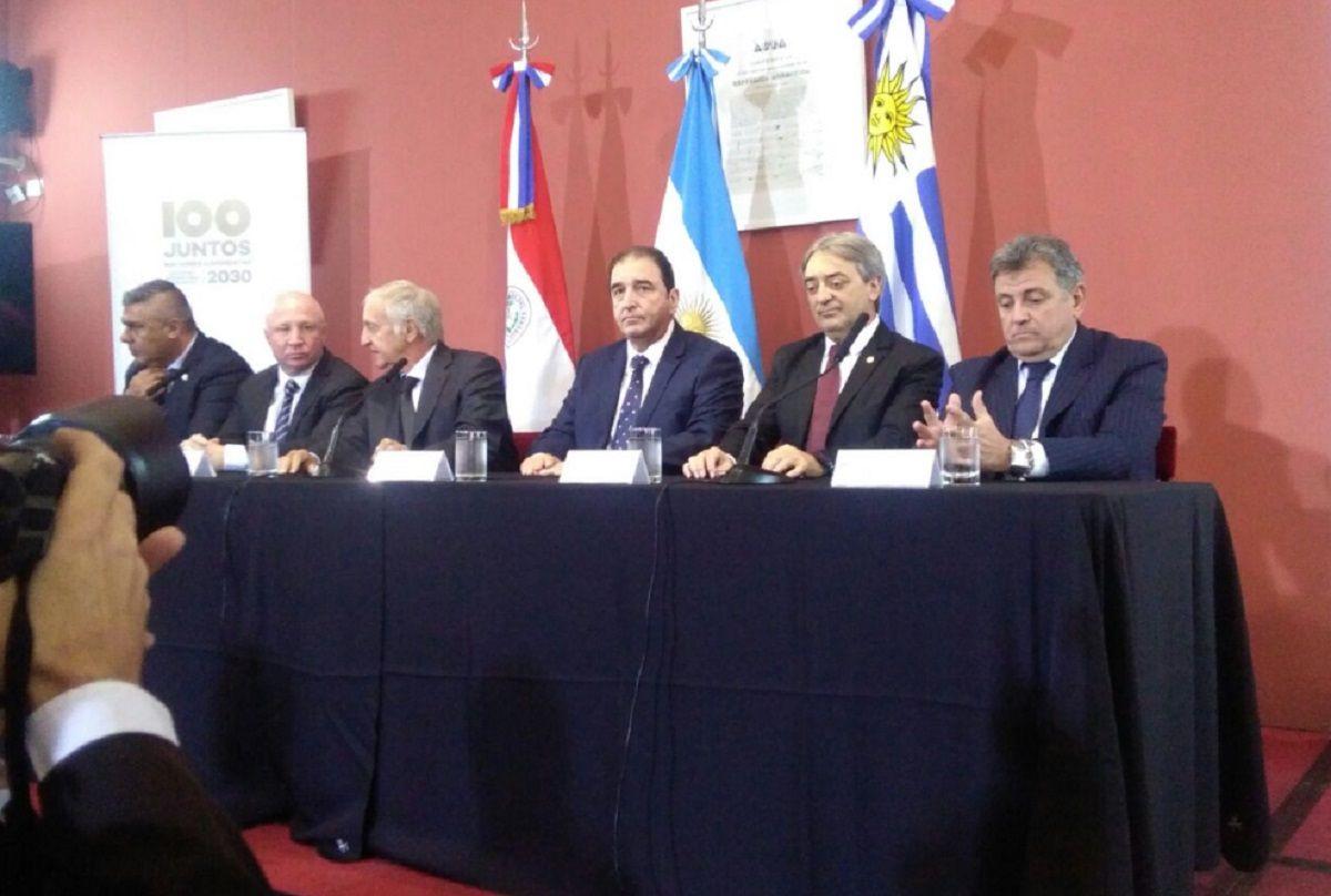 Mundial 2030: así se repartirán las sedes entre Argentina, Uruguay y Paraguay