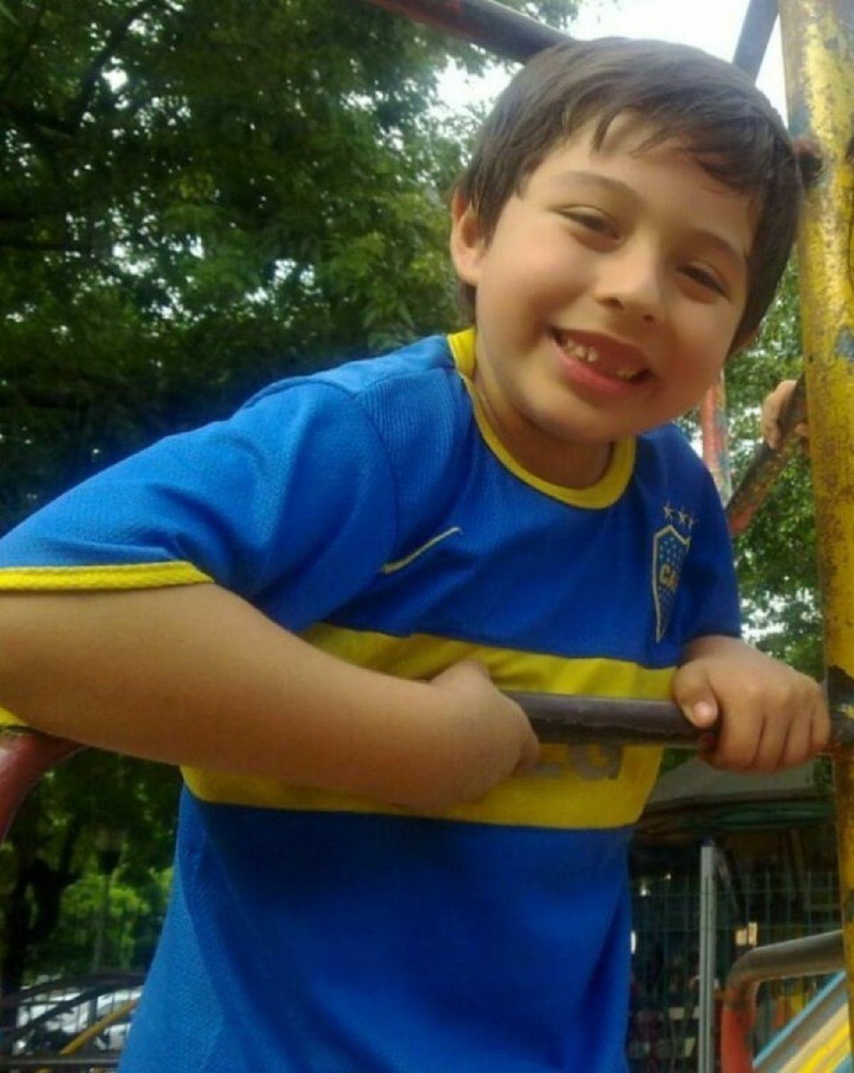 Lisandro Baladán tenía 8 años y murió atropellado por un auto que iba de contramano
