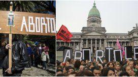 Comenzó el histórico debate por el aborto con disputas en la calle: Pañuelazo vs. Banderazo