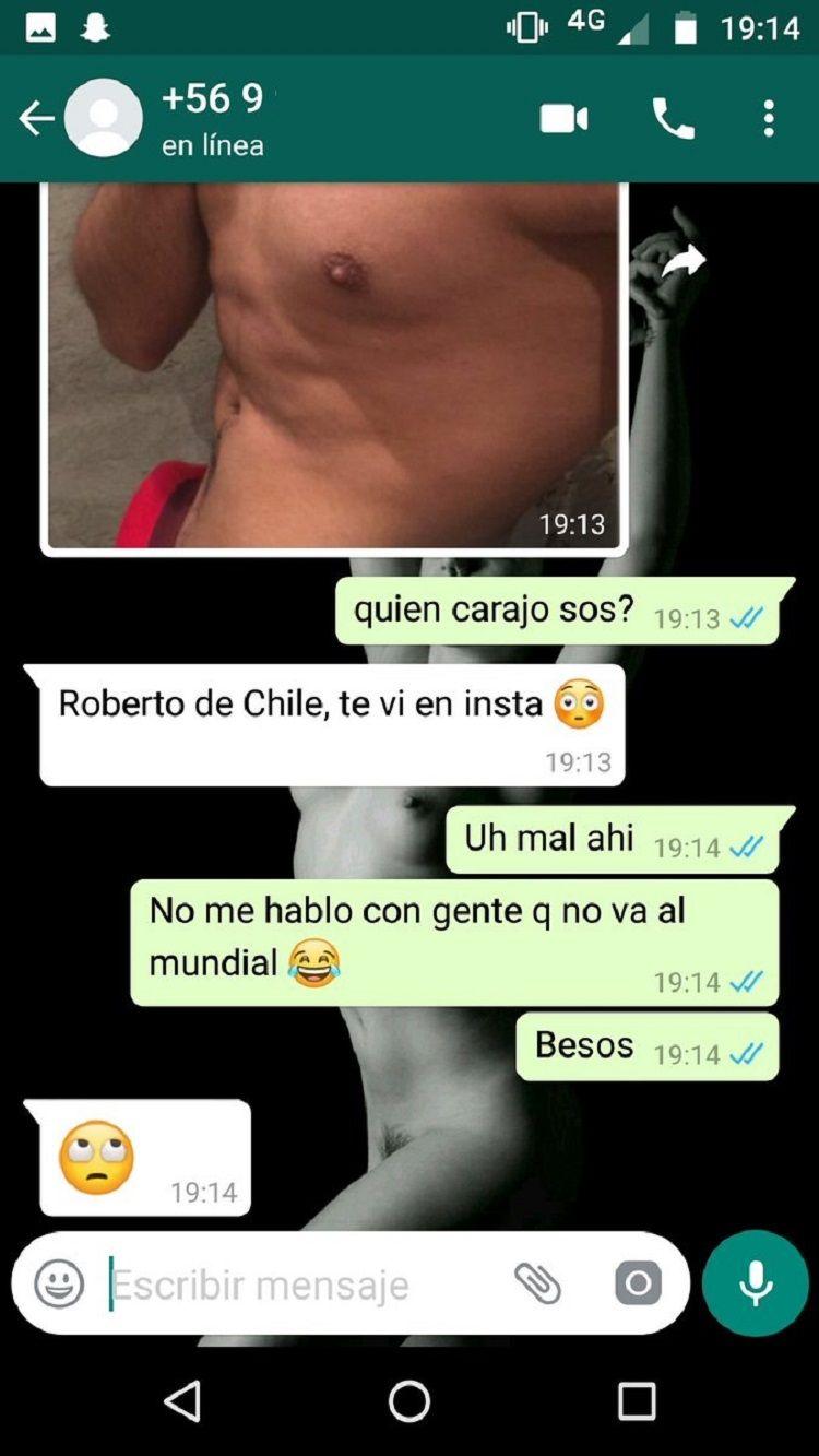 Rechazó a un chileno porque no va al Mundial y se volvió viral