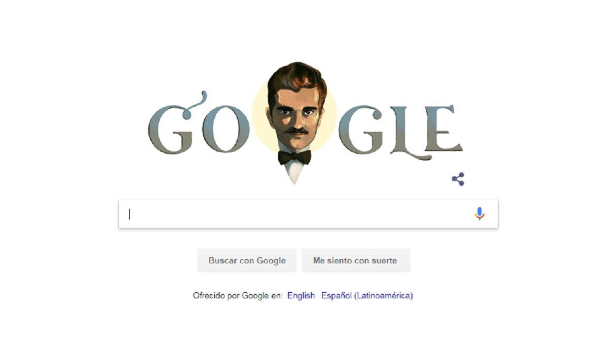 Omar Sharif cumpliría 86 años y Google lo celebra con un Doodle