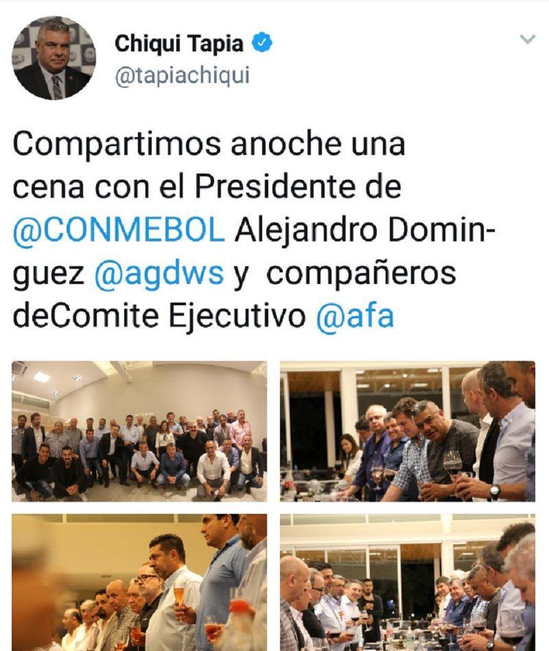 ¿Esto es Boca? AFA recibió al presidente de la Conmebol con un detalle insólito