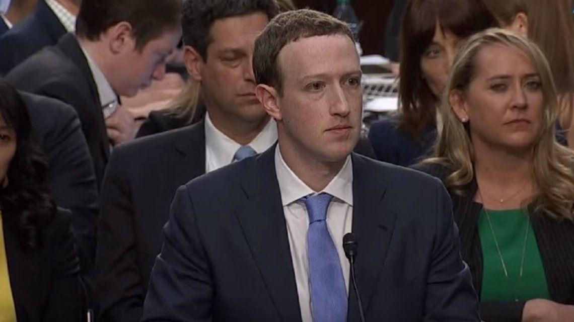 Mark Zuckerberg asumió ante el Congreso de los EE.UU. su responsabilidad por el robo de datos