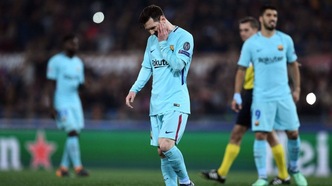 El mejor jugador del mundo no podrá ganar la Champions League este año.