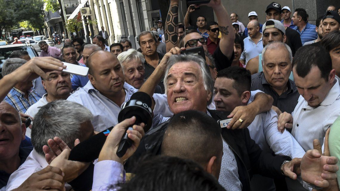 ¿El nuevo peronismo? Barrionuevo se presentó como interventor junto a Campolongo y Bárbaro