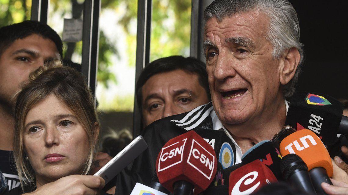 La conducción del Partido Justicialista apelará la intervención y la designación de Luis Barrionuevo