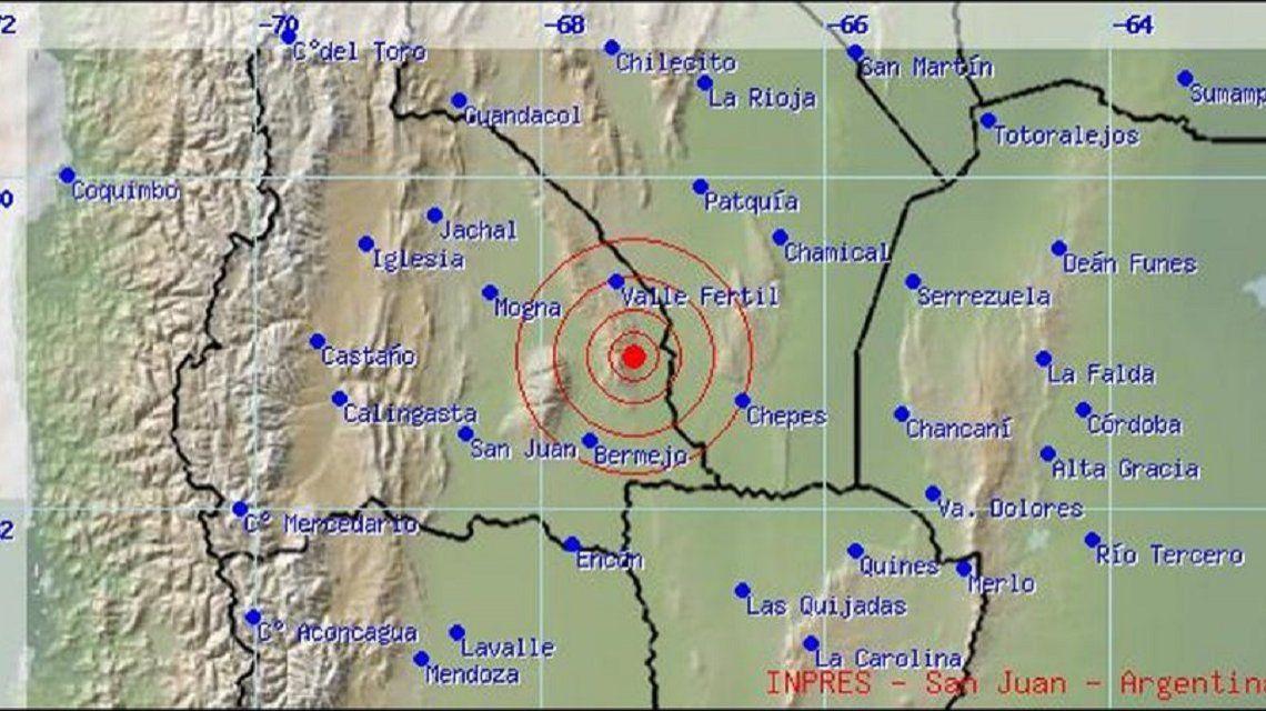 Un nuevo sismo hizo temblar San Juan: es el segundo en menos de 24 horas