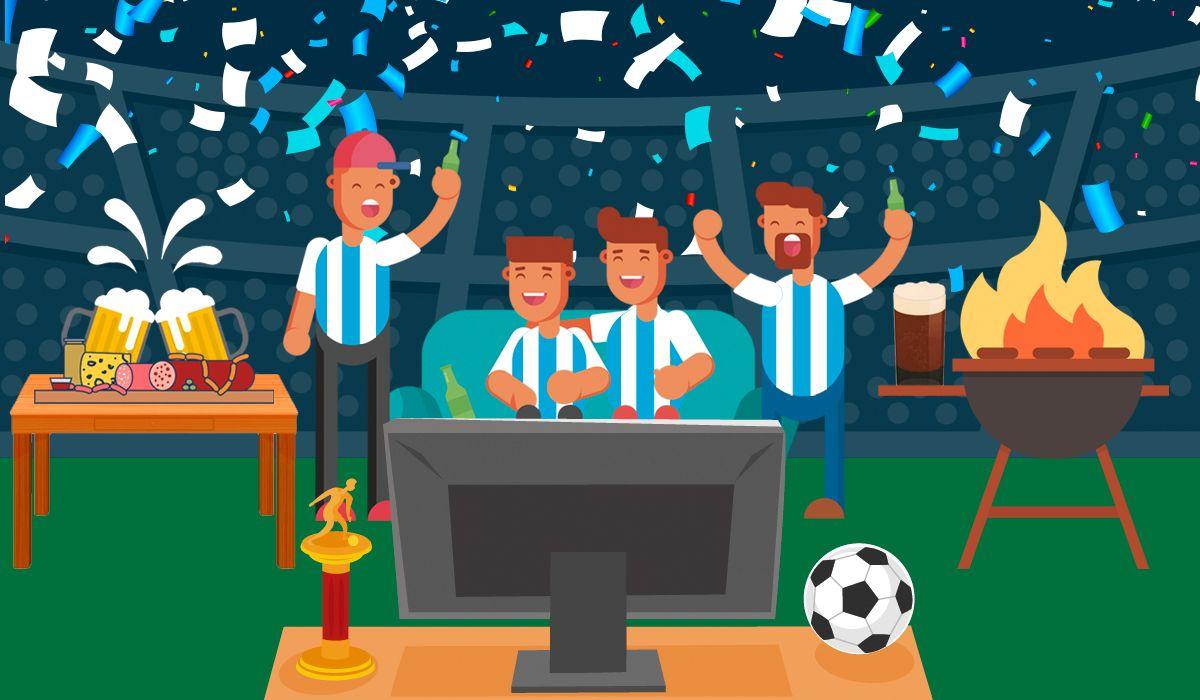 ¿Amigos o familia? La preferencia de los argentinos a la hora de ver fútbol