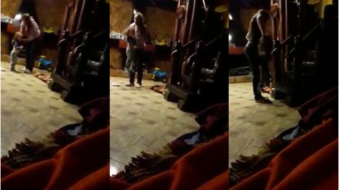 Habló el papá del nene golpeado por su mamá: No quería que lo saque de su casa